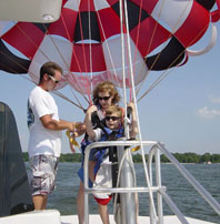 Parasailing at Walt Disney World Resort