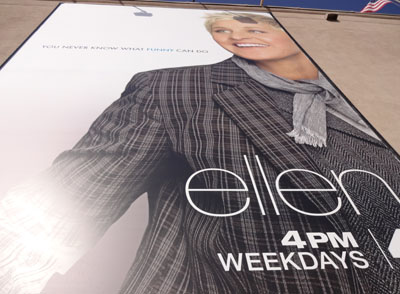i went to a taping of the ellen degeneres show. Black Bedroom Furniture Sets. Home Design Ideas